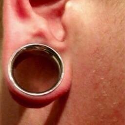 Ear lobe before